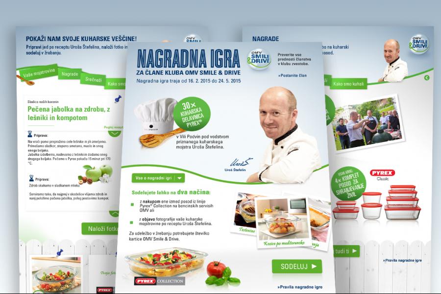 OMV-Pyrex – spletna kampanja